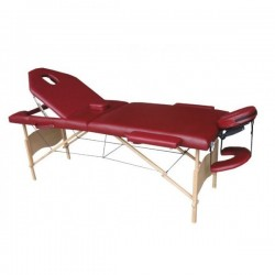 MASSAGE TABLE new model 2014 LUX , CM002, 3 sections 6 cm. padding, portable massage table, therapy bed, Carrier Bag free