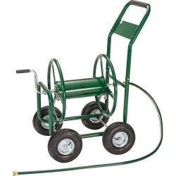 PORTABLE HOSE PIPE HR1801 REEL HOLDER 4Wheel Garden Hose Reel Cart GARDEN WATER