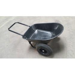 CARRETILLA DE OPRA WB3020P de jardín carro transporte de cemento Jardín Patio alcance 120 kg