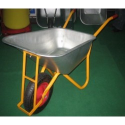 WHEELBARROW,WB4014 WHEELBARROW galvanizedl Heavy Duty Transport garden Barrow  150 kg