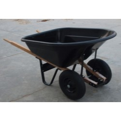 GARDEN WHEELBARROW,WB8024P WHEELBARROW big size 200 kg Heavy Duty Transport Barrow