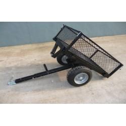 REMORQUE DE JARDIN 350 kg TC3289 -BASCULANTE ,chariot de jardin, brouette