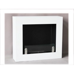 LIVIO 70 cm. Biofireplaces.FD67 WHITE Bio fireplaces ethanol fireplaces .