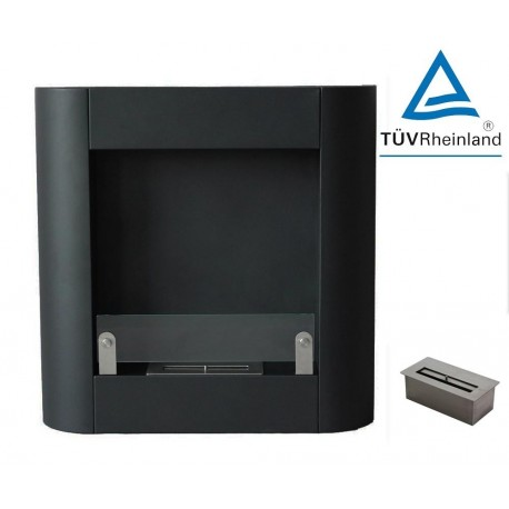 SARAH 72 cm. FD68 BLACK Biofireplaces.Bio fireplaces ethanol fireplaces .etan24