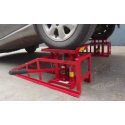 LIFTING CAR RAMP HIGHT QUALITY CR05 Jack 2t PZ.1 , 2 Heights Hydraulic Adjustable Car ramp