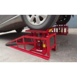 LIFTING CAR RAMP HIGHT QUALITY CR05 Jack 2t PZ.1 , 2 Heights Hydraulic Adjustable Car ramp
