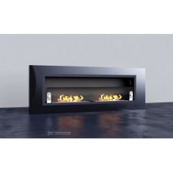 LUXUS PLUS Biofireplaces. FD94 ANTHRACITE GLASS Bio fireplaces ethanol fireplaces
