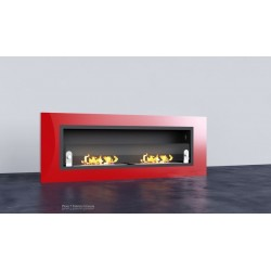 LUXUS PLUS Biofireplaces. FD94 RED GLASS Bio fireplaces ethanol fireplaces
