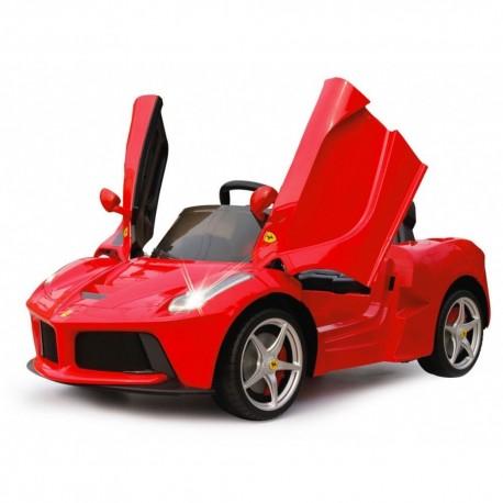 Auto Macchina Elettrica Ferrari Rossa 12V Per Bambini