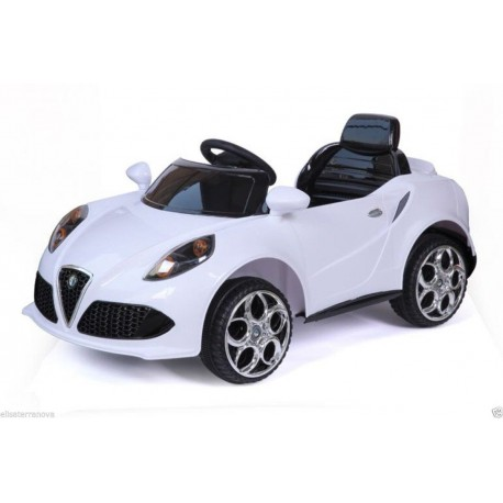 Auto Macchina Elettrica Alfa Romeo 12V Per Bambini