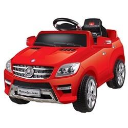 Auto Macchina Elettrica Mercedes ML Rossa 6V 1 Posti Per Bambini