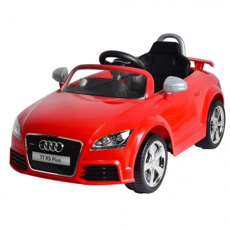 Auto Macchina Elettrica Audi TT Rosso 12V Per Bambini