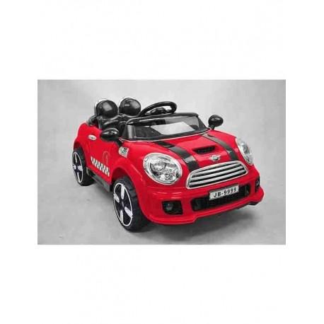 Auto Macchina Elettrica Rally Coupè Rossa 12V Per Bambini
