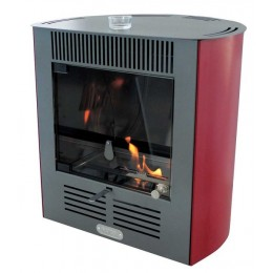 Stufa a bioetanolo ventilata Ruby Smart