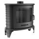 STUFA Autoportante K8 con Turbofan