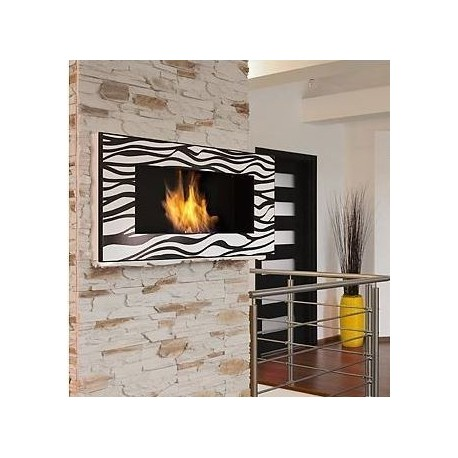 ZEBRATO DELTA 2 Biofireplace. Bio fireplaces ethanol fireplaces