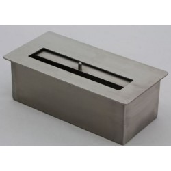 PROFESSIONAL BURNER 1,6 lit FDB25 stainless steel for biofireplaces