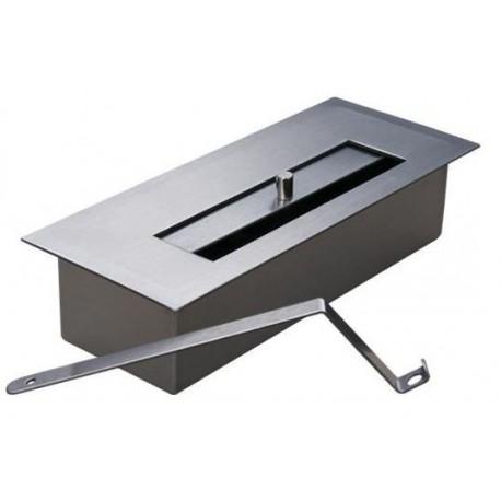 PROFESSIONAL BURNER 0,65 FDB31 lit stainless steel, biofireplaces ethanol