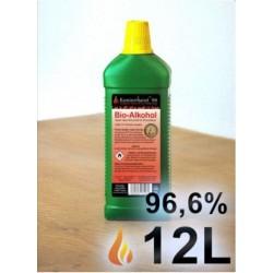 12 Lit BIOETHANOL -Bioethanol pour biocheminees ETA011
