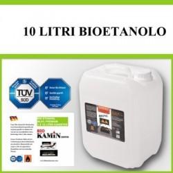 10 Lit BIOETANOLO-Bio etanolo per biocamini
