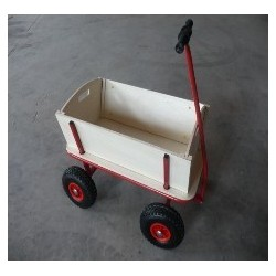 GARDEN CART UTILITY TC2118 4WHEEL TROLLEY Wheelbarrow Cart Tipper Dump ,childrens toys