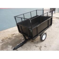 CARRO METAL TRAILER, TC3080H cesta tráiler de varios vehículos agrícolas alcanzan 350 kg.