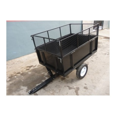 GARDEN TRAILER TC3080H 2WHEEL Wheelbarrow Cart Tipper Dump