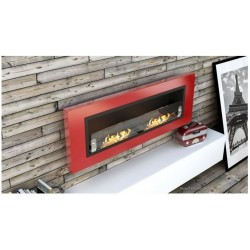 LUXUS PLUS Biofireplaces. FD94 GLASS Bio fireplaces ethanol fireplaces