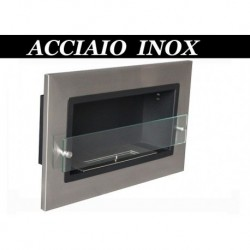 ISABEL inox Biofireplace. FD93 Bio fireplaces ethanol fireplaces
