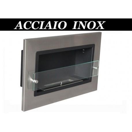 ISABEL inox Biofireplace. FD93 Bio fireplaces ethanol fireplaces