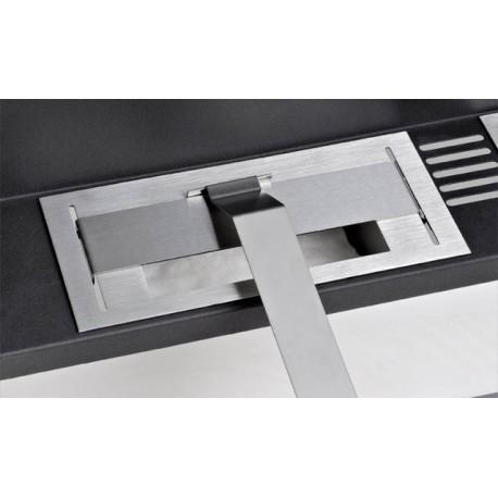 BRUCIATORE 0,55 lit professionale acciaio inox per biocamino ETAN094