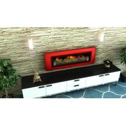 LUXUS PLUS Biofireplaces. FD94 GLASS Bio fireplaces ethanol fireplaces