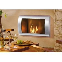 Bio foyers à l'éthanol cheminée de gel mod Selly 80cm