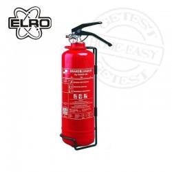 Estintore - blusapparaat -ETAN087 fire extinguisher-extintor de incendios -extincteur d'incendie 1kg con barometro