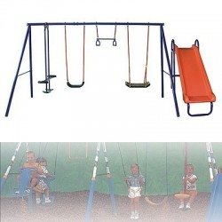Garden swings, children swing, swing 4 places