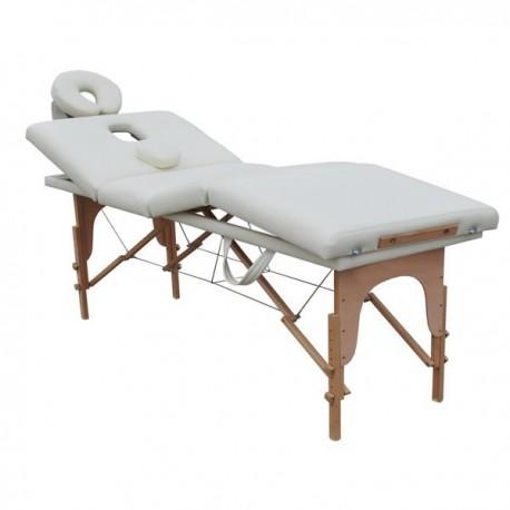 Lettino Da Massaggio Portatile Leggero.Lettino Da Massaggio 4 Zone Bianco Portatile 6 Cm Imbottitura Fd09