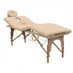 TABLE DE MASSAGE PLIANTE 4 zones 6cm rembourrage, FD095B banc massage portable ,professionnel + sac