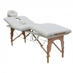 TABLE DE MASSAGE PLIANTE 4 zones 4 cm. rembourrage, DF095B banc massage portable ,professionnel + sac