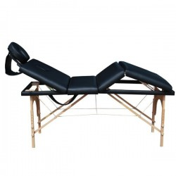 MASSAGE TABLE 4 sections 4 cm. DF095B padding, -4 portable massage table, therapy bed, Carrier Bag fr ee