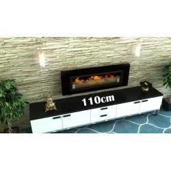 LUXUS PLUS Biofireplaces. FD94 BLACK GLASS Bio fireplaces ethanol fireplaces