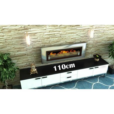 LUXUS Biofireplaces. FD94 brush Bio fireplaces ethanol fireplaces