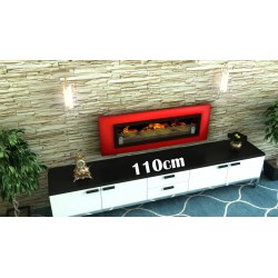 LUXUS Biofireplaces. FD94 RED Bio fireplaces ethanol fireplaces