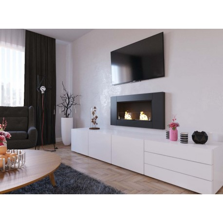 MEGALINE TÜV Biofireplace. Bio fireplaces FD30 ethanol fireplaces 110x54 cm inox megaline TÜV