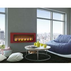 Biofireplaces Bio fireplaces ethanol fireplaces Red CONTINENTAL XXL 110 x 40 FD96
