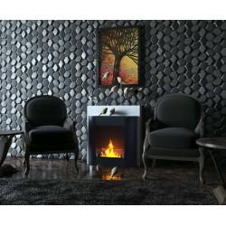 SARAH 72 cm. FD68 BLACK Biofireplaces.Bio fireplaces ethanol fireplaces .etan24