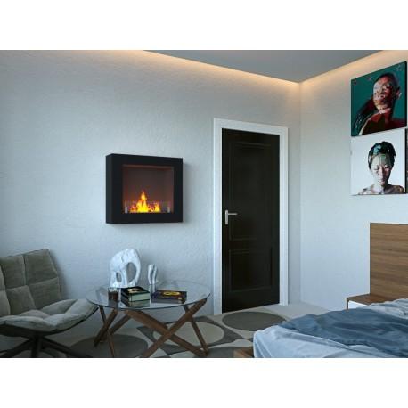 Biofireplaces.FD67 Bio fireplaces ethanol fireplaces LIVIO 70 cm. NERO