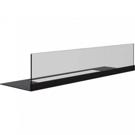 vetro 37 cm per modello quat base + vetro