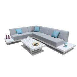SET COMPLETO DIVANI CON TAVOLO SET ROYAL