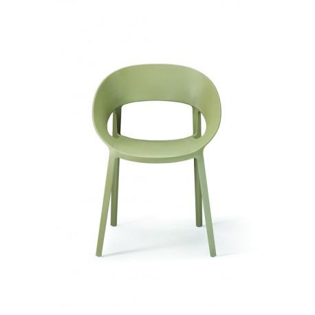 Sedia design moderno - lussuosa - mod space colore verde