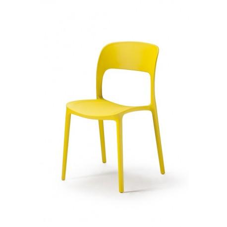 Sedie stile moderno Sedia Mod Luy GIALLA